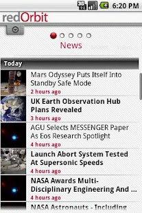 redOrbit Mobile - screenshot thumbnail