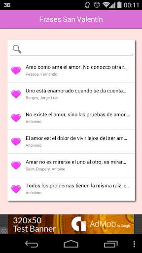 Frases y mensajes San Valentin