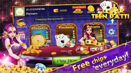 Teen Patti Gold Flush Poker 1.4.0 screenshot 1248105