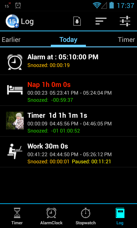 Timers4Me - Timer & Stopwatch - screenshot