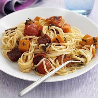 Butternut & Chorizo Spaghetti Recipe