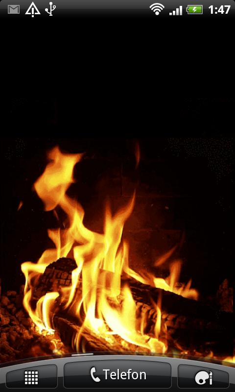 FirePlace Live Wallpaper - screenshot