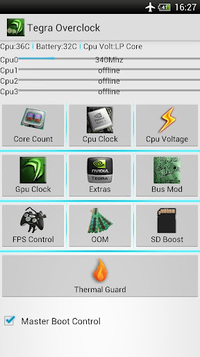 Tegra 2 android Overclock v1.5.9a APK