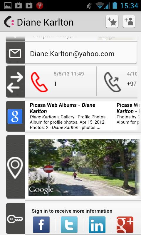 CallmyName -Dialer & Caller ID- screenshot