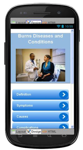 Burns Disease Symptoms