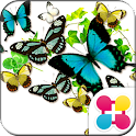 Butterflies in summer [+]HOME icon