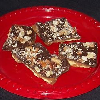 Toffee Pie Bars