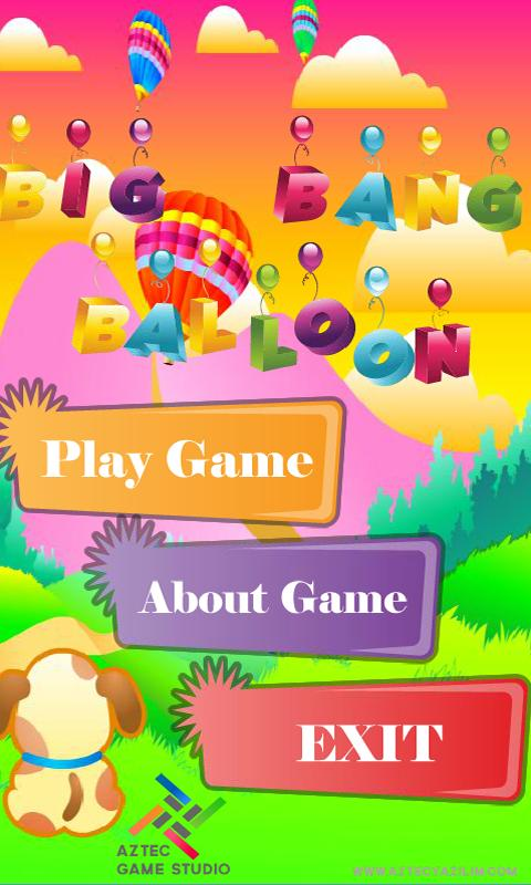 Big Bang Balloon - screenshot