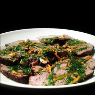 Orange Gremolata Beef Roast