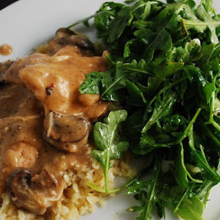 Crock Pot Chicken Parisienne.