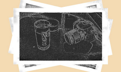 Android Doodle Camera 1.3.4 كميرا تجعل الصور مرسومة بقلم الرصاص