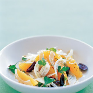 Fennel Orange Salad.