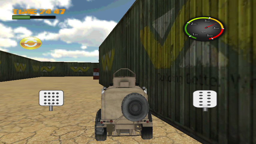 Screenshots of all terrain racing game for Android