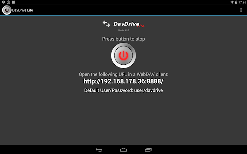 DavDrive Lite - screenshot thumbnail
