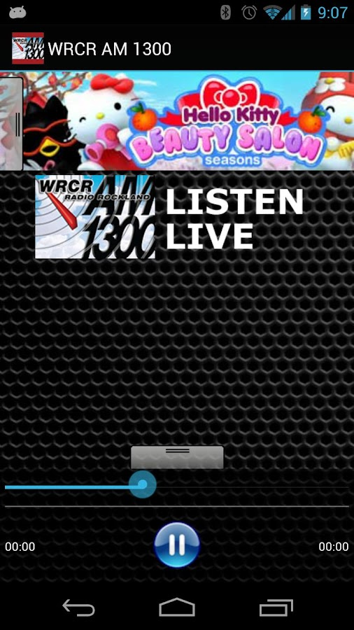 WRCR AM 1300 - screenshot