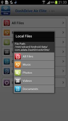 DashDrive Air Elite - screenshot