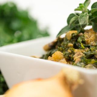 Kale & Mushroom Stroganoff