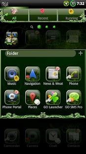 Nature v2 GO Launcher EX Theme- screenshot thumbnail