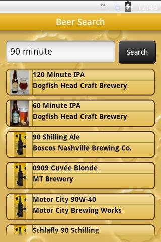 BrewGene- screenshot