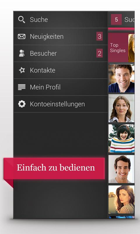 Single.de Flirt, Dating & Chat - screenshot
