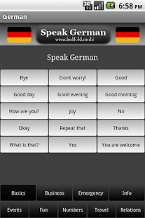 Speak German - screenshot thumbnail