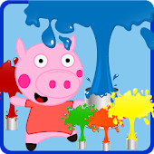 Peppie Pig Free Coloring Books