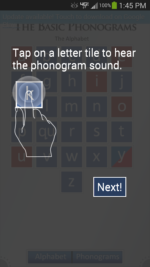 Phonogram Sounds- screenshot