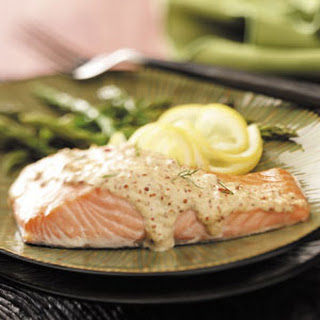 Chipotle-Sparked Mustard Salmon