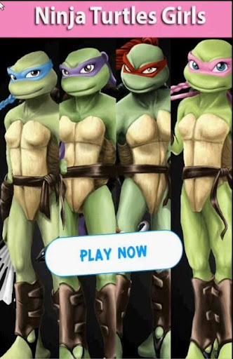 Ninja Turtles Girls Matching