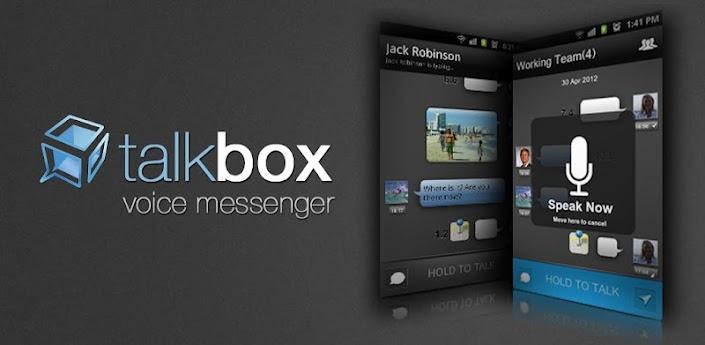 برنامج الدردشة الصوتية الشهير TalkBox ( معرب ) لجوالات الاندرويد