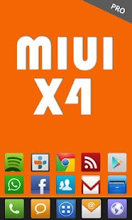 MIUI X4 Go/Apex/ADW Theme PRO- screenshot thumbnail