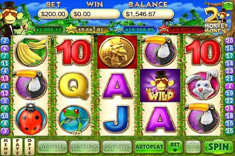 Monkey Money 2 Slots- screenshot thumbnail
