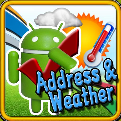 アドレスと天気 旅遊 LOGO-玩APPs
