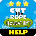 Cut the Rope Holiday Gift Help icon