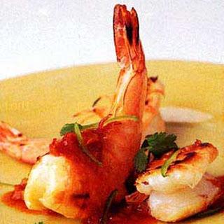 Grilled Shrimp with Tamarind Sauce.