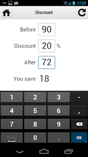 Percentage Calculator - screenshot thumbnail
