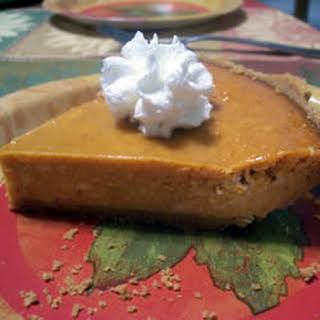 Pumpkin Cheese Pie.