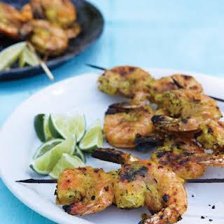 Grilled Shrimp Skewer.