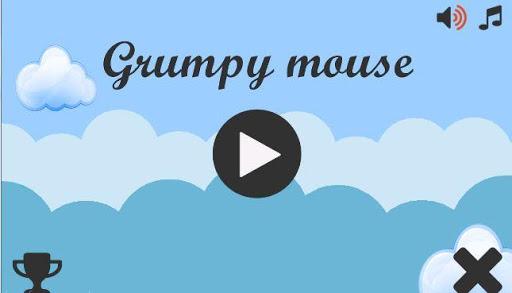 Grumpy mouse