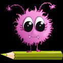 ABC coloración Educación icon