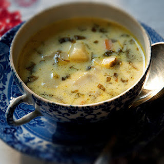 Creamy Sorrel Soup