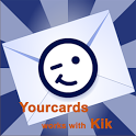 YourCards - works with Kik icon