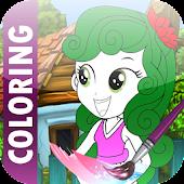 Coloring Equestria Girl