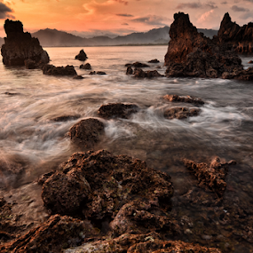 the rocks by Raung Binaia - Landscapes Beaches