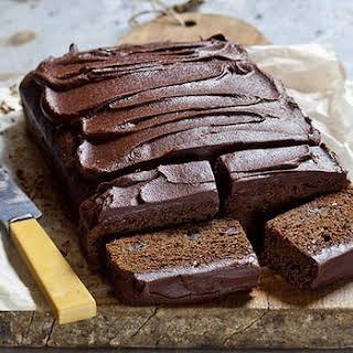 Sticky Chocolate Gingerbread Cake.