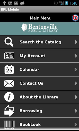 Bentonville Library Mobile