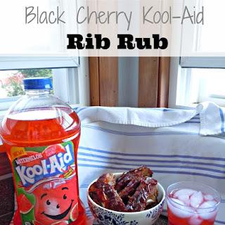 Black Cherry Kool-Aid {Drink} Rib Rub