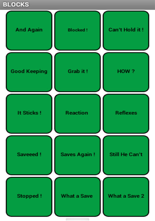 Futbol (Soccer) SoundBoard- screenshot
