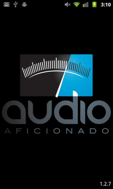 Audio Aficionado - screenshot