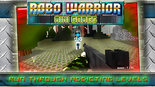 Robo Warrior Mini Games